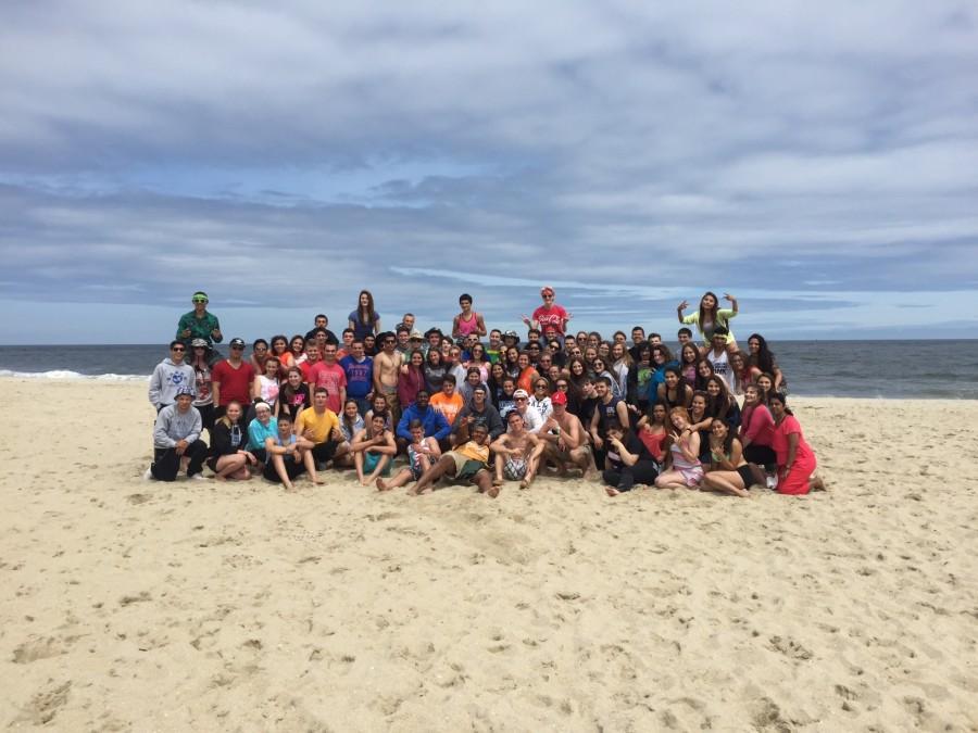 Juniors at the beach