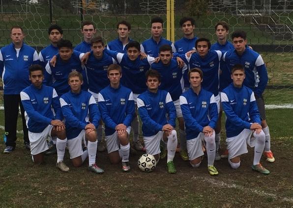 HHS 2015 Boys Soccer Team