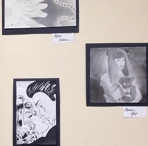 The Art Show of Black and White Studies
