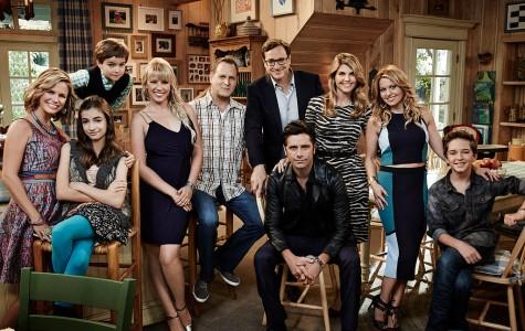 The cast of Fuller House