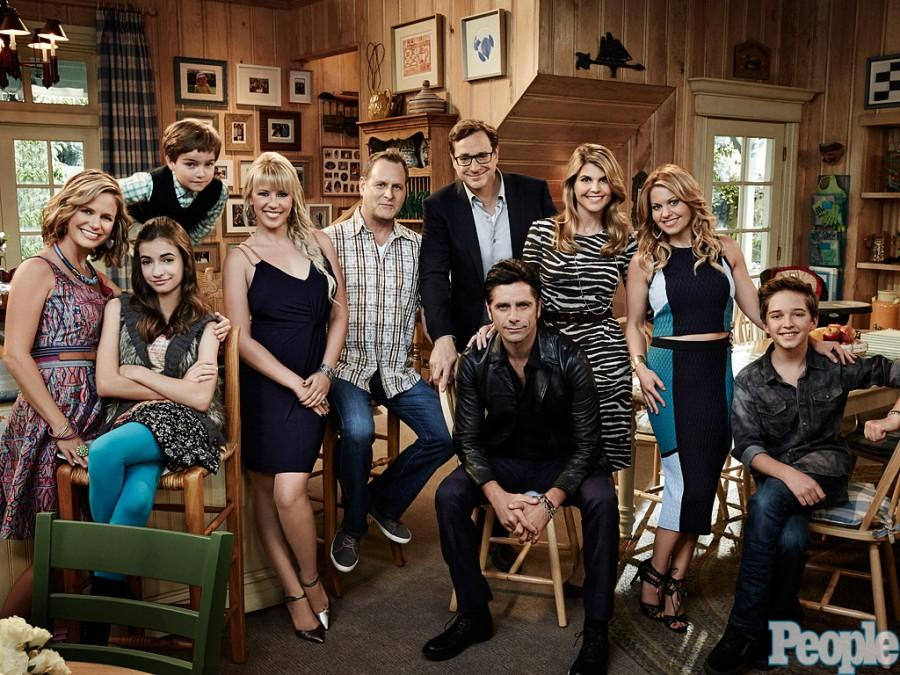 The cast of Fuller House