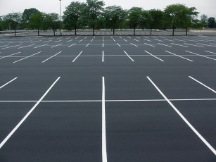 New Parking Lot At HHS