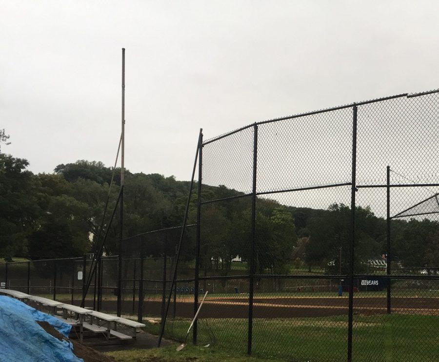 HHS Baseball Field: The Makeover Begins