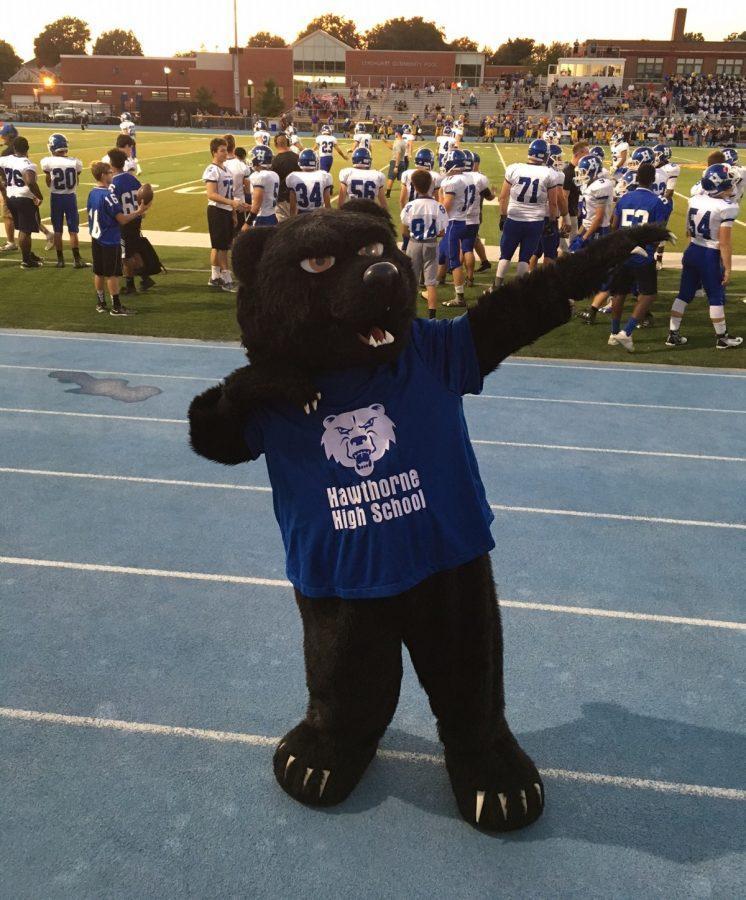 Who is the Hawthorne High School Bear?