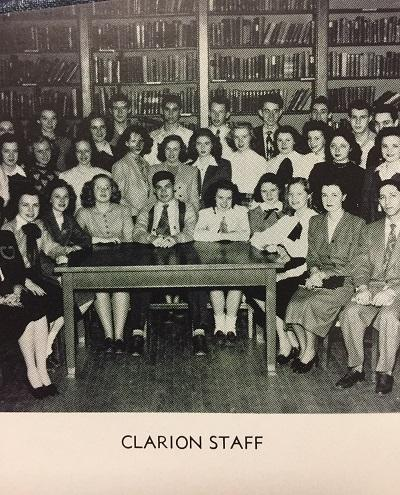 An Early Clarion Staff