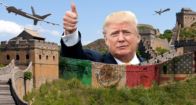 news minutes donald trump wall mexican border fence segments