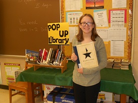 HHS Media Center Introduces the POP-UP Library