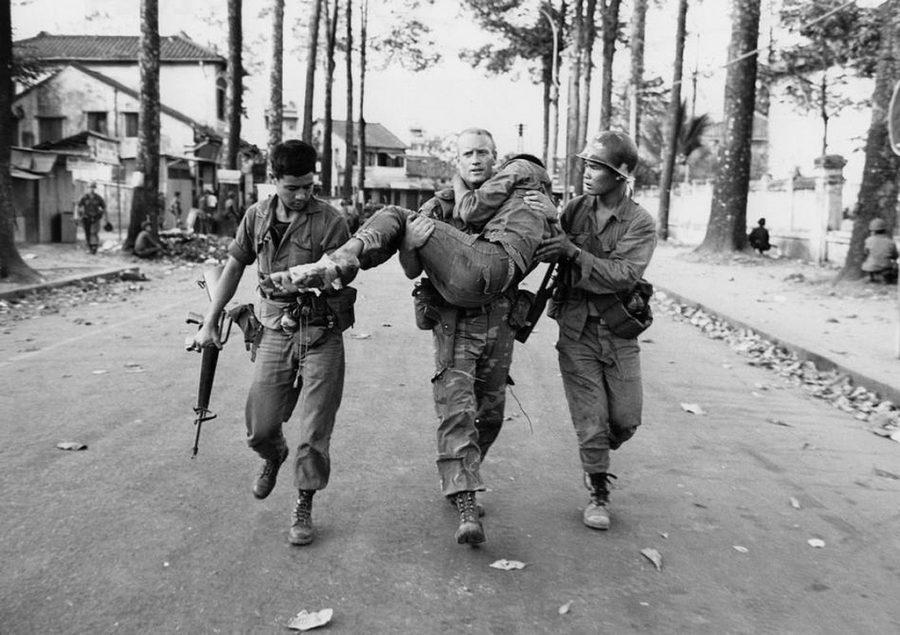 Soldiers During the Tet Offensive