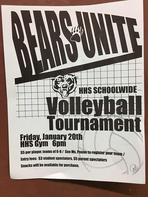 Volleyball Tournament Hits HHS