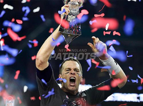 Tom Brady Celebrates!
