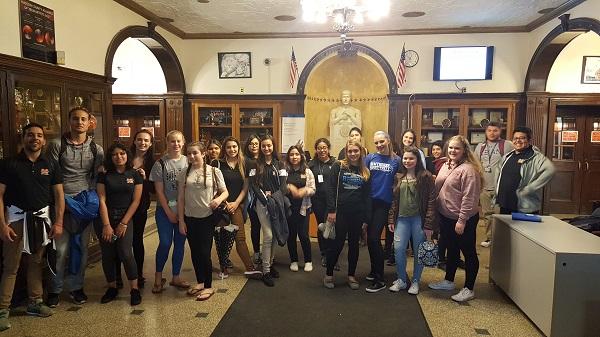 HHS Future Teachers at Memorial High School