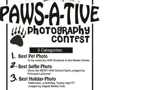 Paws-A-Tive Photography Contest