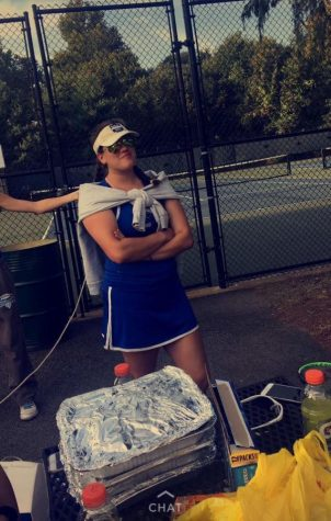 Jacquelyn Hampson: HHS Tennis Player