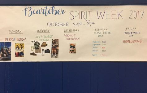 Here Comes Spirit Week!