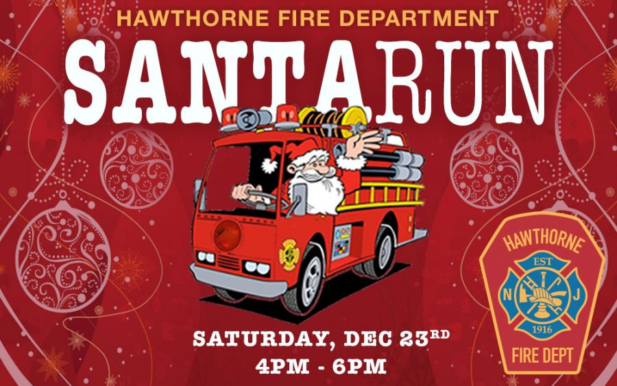 Hawthorne Fire Department Santa Run