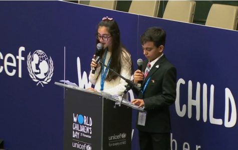 A Touching Speech at The United Nations