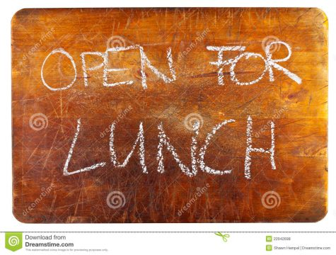Library Media Center Open For Lunch