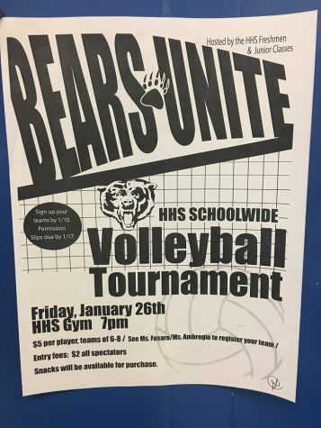Bears Unite: HHS Volleyball Tournament