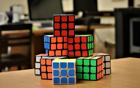 New Cubing Competition at the Media Center