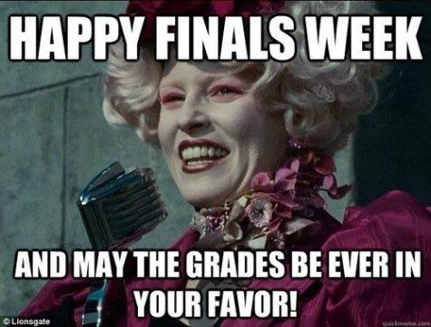 Finals Week Approaching