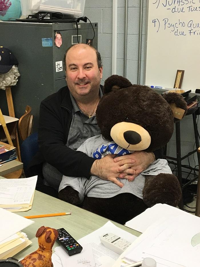 The Bear...Along With His Award
