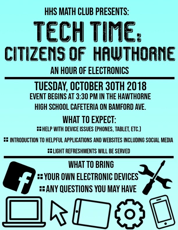 Tech Time: Hour of Electronics!