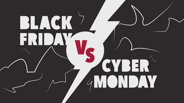cyber monday eller black friday