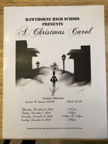 HHS A Christmas Carol Coming Soon!