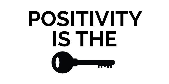 Being+Positive+is+the+Key+of+Life