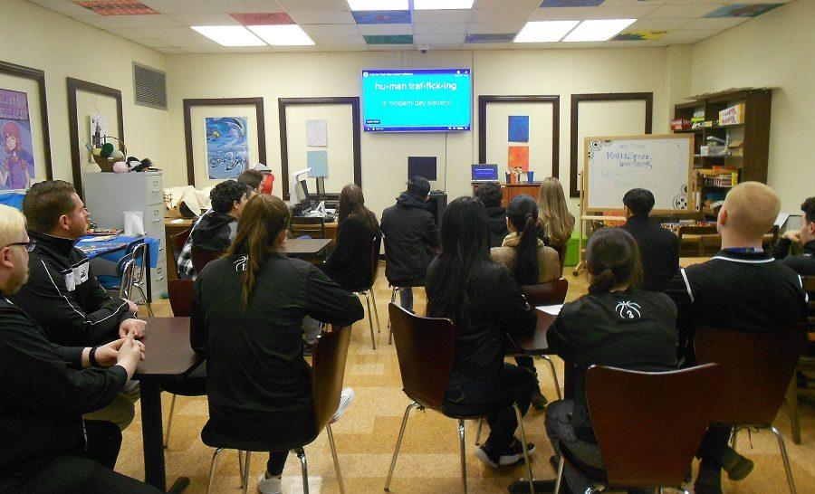 Hawthorne High School Shines a Light on Human Trafficking