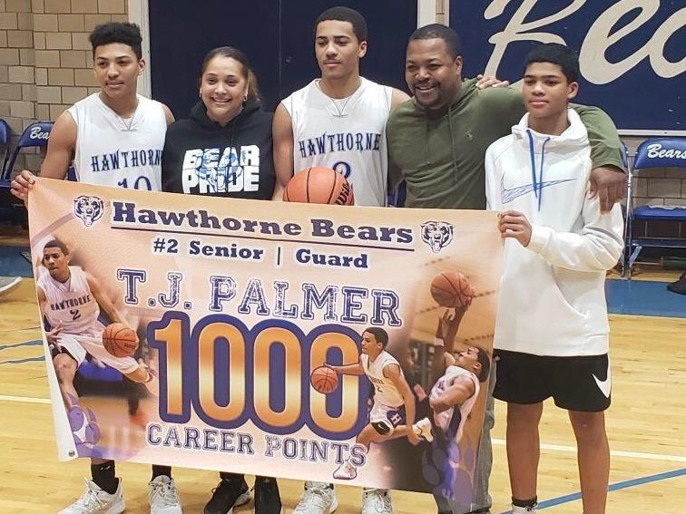 TJ Palmer Becomes Mr. 1,000