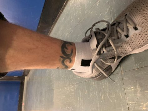 Help Warner Get His Ankle Tattoo Removed!