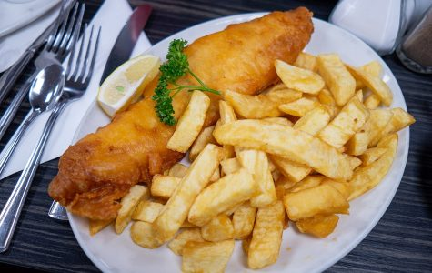 HHS Marching Band's Fish & Chips Dinner