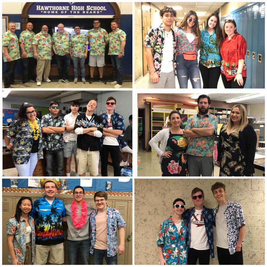 Spirit Week Day 2: Tropical Tuesday