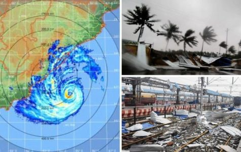 Cyclone Fani Strikes India