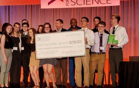 Hawthorne High Takes Home First Prize in STEM Tank Competition