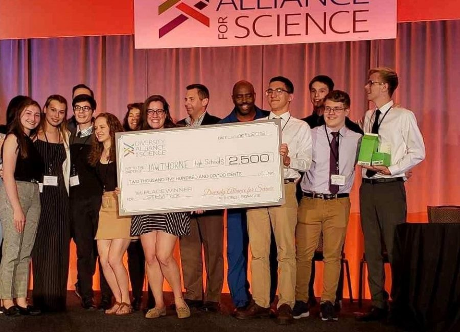 Hawthorne+High+Takes+Home+First+Prize+in+STEM+Tank+Competition