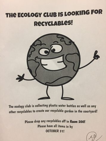 Help The Ecology Club!