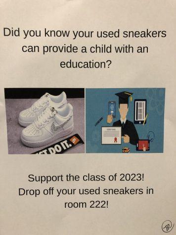 Class of 2023 Shoe Drive