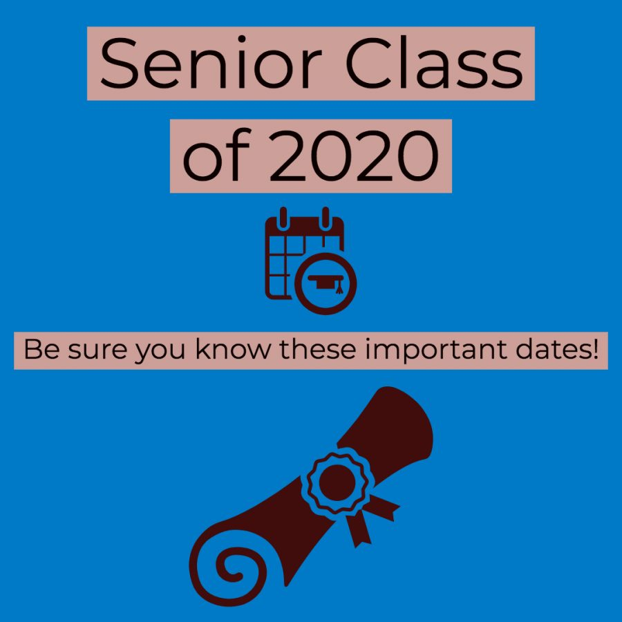 Important Senior Dates and Events
