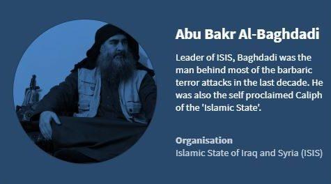 ISIS Leader Dies in Suicide Bombing