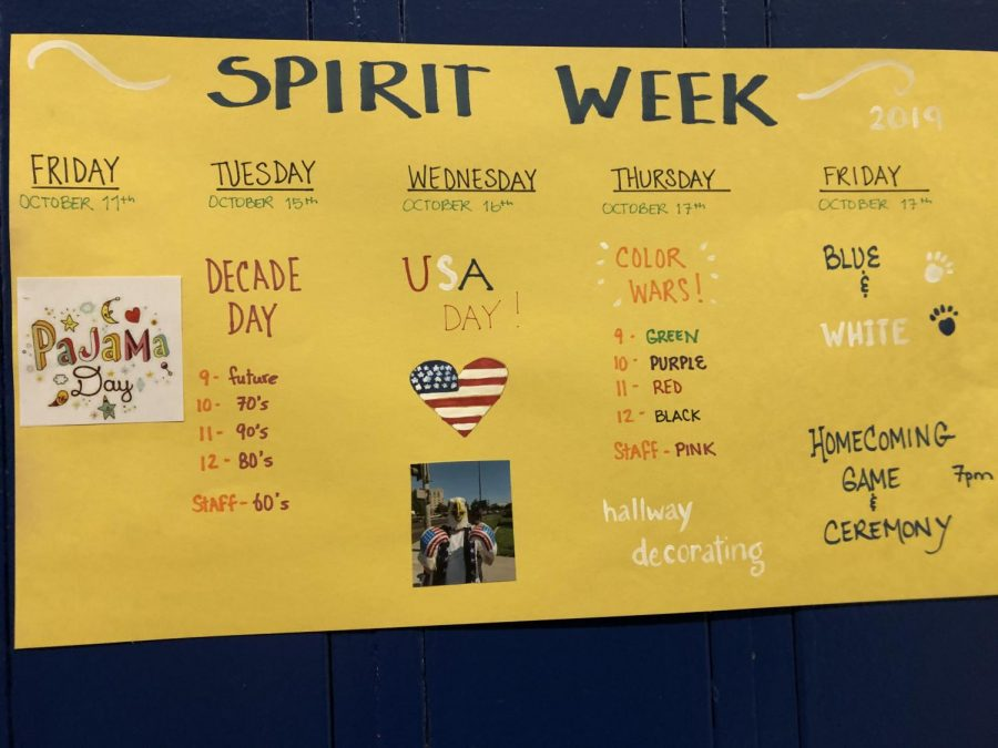 Spirit Week at HHS