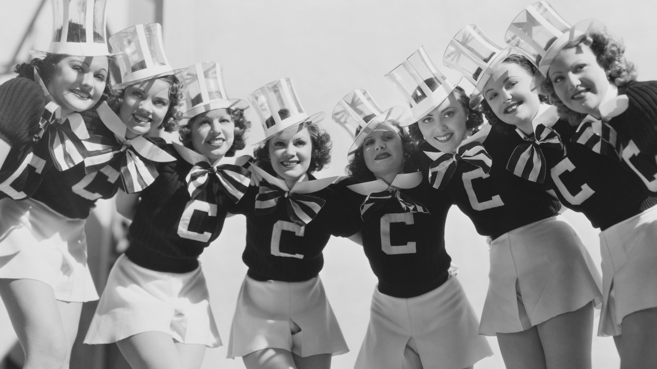 Selected Cast for College Holiday (Photo by  John Springer Collection/CORBIS/Corbis via Getty Images)