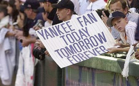 Yankee Fan Today, Tomorrow, Forever