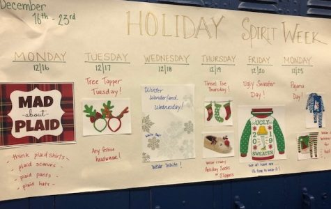 HHS Winter Spirit Week