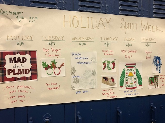 HHS Winter Spirit Week