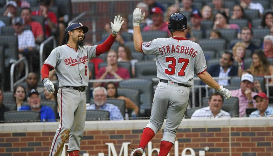 Nationals Re-sign Strasburg, Check in with Cubs About Bryant