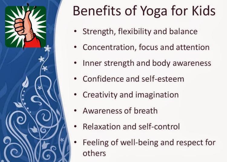 The Recreational Benefits of Yoga on Children