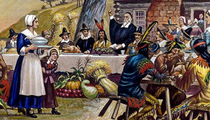 The History of Thanksgiving Dinner