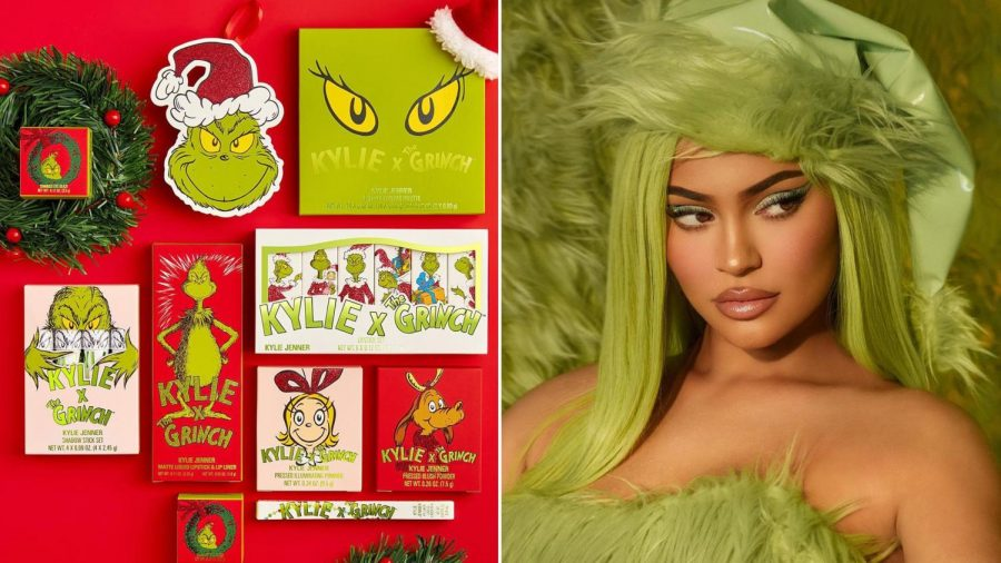 Kylie Cosmetics Grinch Collection